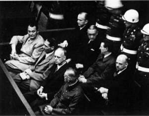 First Nuremberg trial