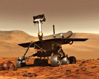 Rover craft on Mars