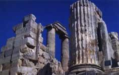Ερείπια στην Τουρκία
