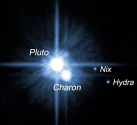luas de Plutão