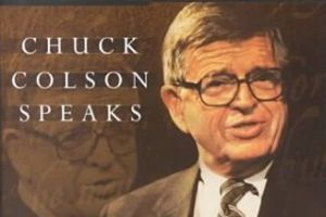 Cover of book Chuck Colson Speaks
