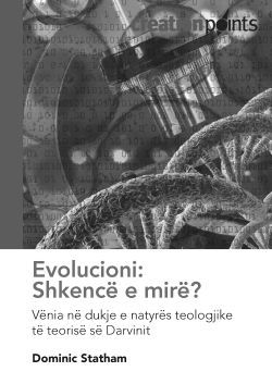 Evolution: Good science? Exposing the idealogical nature of Darwin's theory