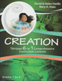 Young learners discover Creation with 13 integrated, fun-filled lessons! Each 10-page set of instructions include math, english, science, art, spelling, and physical activities.