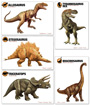 Dinosaur Flash Cards (2 sets of 5)