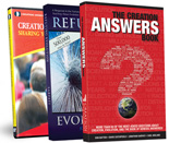 A great starter-pack for any person seeking answers on the creation/evolution issue. Each pack contains one copy of: The Creation Answers Book; Refuting Evolution; Origins in the Modern World: Why it Matters DVD.