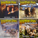 Jonathan Park audio MP3 CD Vols 1-4 pack