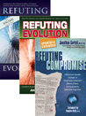 This pack includes:Refuting Evolution, Refuting Evolution 2, Refuting Compromise