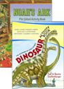 Ark & Dinosaur Activity books