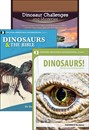 Dinosaur Challenges & Mysteries + 2 DVDs