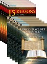 15 Reasons to Take Genesis as History + How Did We Get Our Bible?s pack
