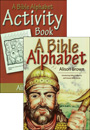 A Bible Alphabet + Activity Book pack