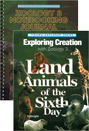 Exploring Creation with Zoology 3: Land Animals (textbook + notebooking journal)