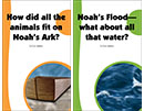 Noah's Ark-What about all that water? + How did the amimals fit on Noah's Ark?