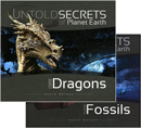Untold Secrets: Dire Dragons + Fossils book pack