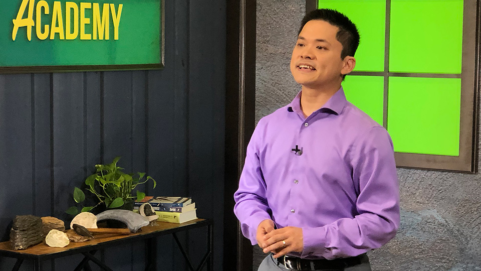 Joel Tay on The Genesis Academy set